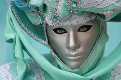 Beautiful clasical mask in Venice Stock Image