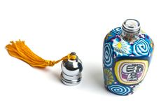 Beautiful classic Abra style perfume bottle Royalty Free Stock Photo