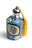 Beautiful classic Arab style perfume bottle Royalty Free Stock Photo