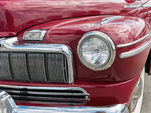 Beautiful classic car details Royalty Free Stock Photos