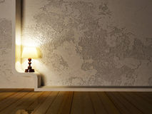 Beautiful classic lamp Royalty Free Stock Image