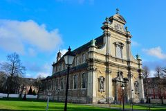 Beautiful classical church Stock Photo