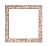 Beautiful classical photo frame isolated on white background Stock Image
