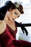 Beautiful classy woman Stock Photo