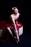 Beautiful classy woman. Beautiful Sexy Vintage classy woman Stock Photos