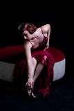 Beautiful classy woman. Beautiful Sexy Vintage classy woman Royalty Free Stock Photos
