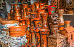 Beautiful Clay pots. Stock Image