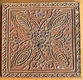 Beautiful clay work handmade design Stock Photography