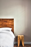 Beautiful Clean and Modern Bedroom Royalty Free Stock Images
