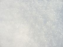 Beautiful clean snow background. Beautiful clean and soft snow surface Royalty Free Stock Photos