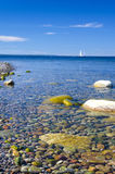 Beautiful clear calm sea Royalty Free Stock Images