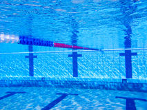 Beautiful clear pool water Stock Photo
