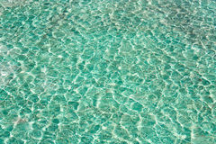 Beautiful clear pool water Stock Photo