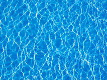 Beautiful clear pool water Royalty Free Stock Images