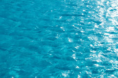 Beautiful clear pool water reflecting Stock Photography