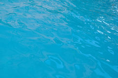 Beautiful clear pool water reflecting in the sun Stock Photography