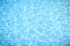 Beautiful clear sea water reflecting Royalty Free Stock Photos