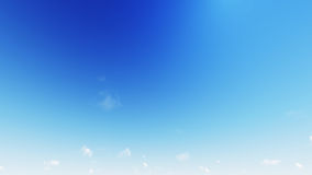 Beautiful clear skies during the day, the clouds are good. Stock Photo