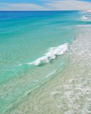 Beautiful Clear Surf Stock Images