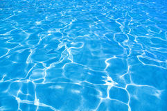 Beautiful clear water Stock Images