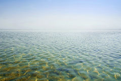 Beautiful clear water reflecting in the sun Royalty Free Stock Photo