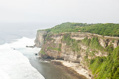 Beautiful cliff in front of Uluwatu temple, Bali Stock Photos