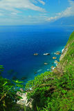 Beautiful Cliff in Hualien, Taiwan Stock Images