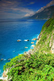 Beautiful Cliff in Hualien, Taiwan Stock Photography