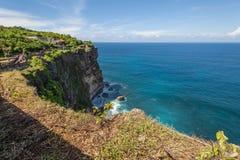 Beautiful cliff in Uluwatu, Bali, Indonesia Royalty Free Stock Images