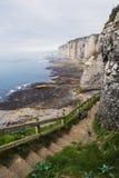 Beautiful cliffs of Etretat Stock Photography