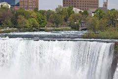 Beautiful close photo of the amazing Niagara waterfall US side Stock Photo