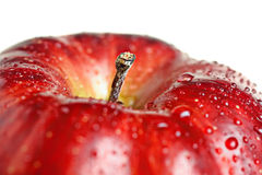 Beautiful close up apple Royalty Free Stock Photography