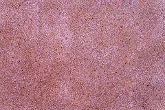 Beautiful close up red gravel background with empty space. Close up red gravel background with empty space royalty free stock photography