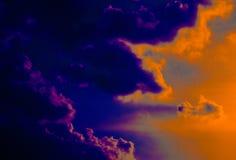 Beautiful closeup blue sky and sun landscape background and wallpaper. Beautiful closeup blue sky and sunrise landscape background and wallpaper royalty free stock photo