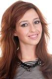 Beautiful closeup portrait of woman Stock Photo