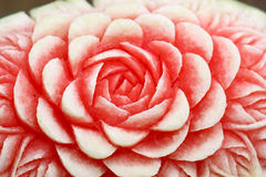 Carved flower Stock Image