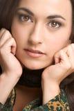 Beautiful Closeup Woman stock photos