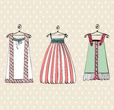 Beautiful clothes Royalty Free Stock Images