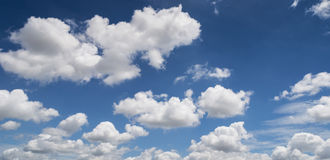 Beautiful cloud and blue sky Stock Photos