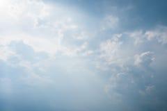 Beautiful cloud blue sky Stock Image