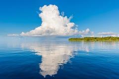 Beautiful cloud over ocean Royalty Free Stock Image
