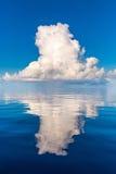 Beautiful cloud over ocean Stock Image