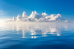 Beautiful cloud over ocean Royalty Free Stock Photo