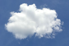 Beautiful cloud Stock Photography