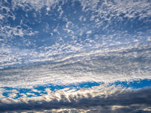 Beautiful cloud on the sky in the morning Royalty Free Stock Photography