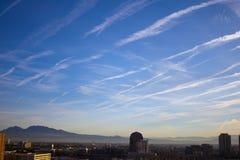 Beautiful cloud Streaks Royalty Free Stock Image