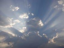 beautiful clouds Arkivbild