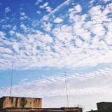 beautiful clouds Fotografering för Bildbyråer