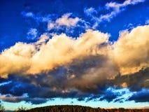 beautiful clouds Στοκ εικόνα με δικαίωμα ελεύθερης χρήσης