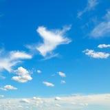 beautiful clouds Стоковое Изображение